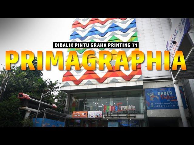Kunjungan ke Graha Printing PrimaGraphia