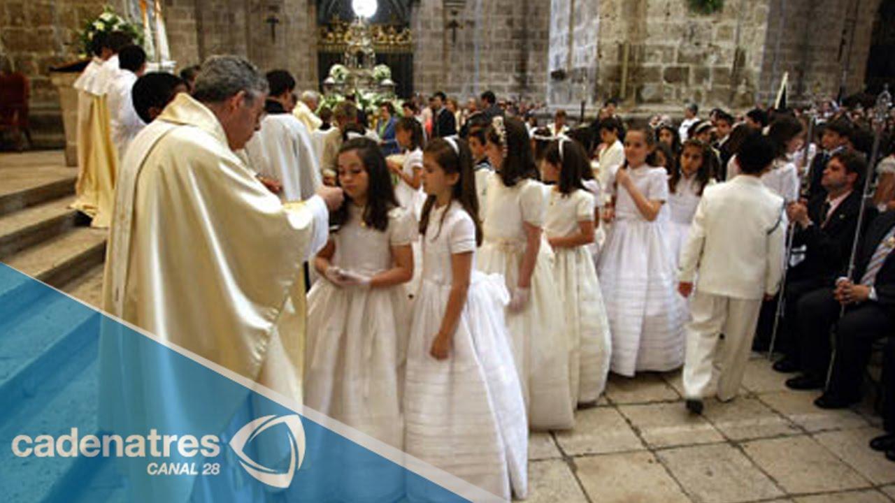 la primera comunión, muy importante en la tradición mexicana - youtube