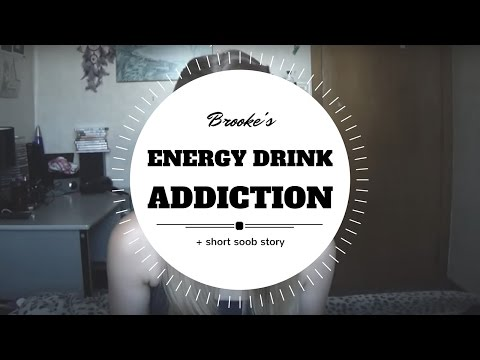 ♥ MY ENERGY DRINK ADDICTION + a short soob story ♥