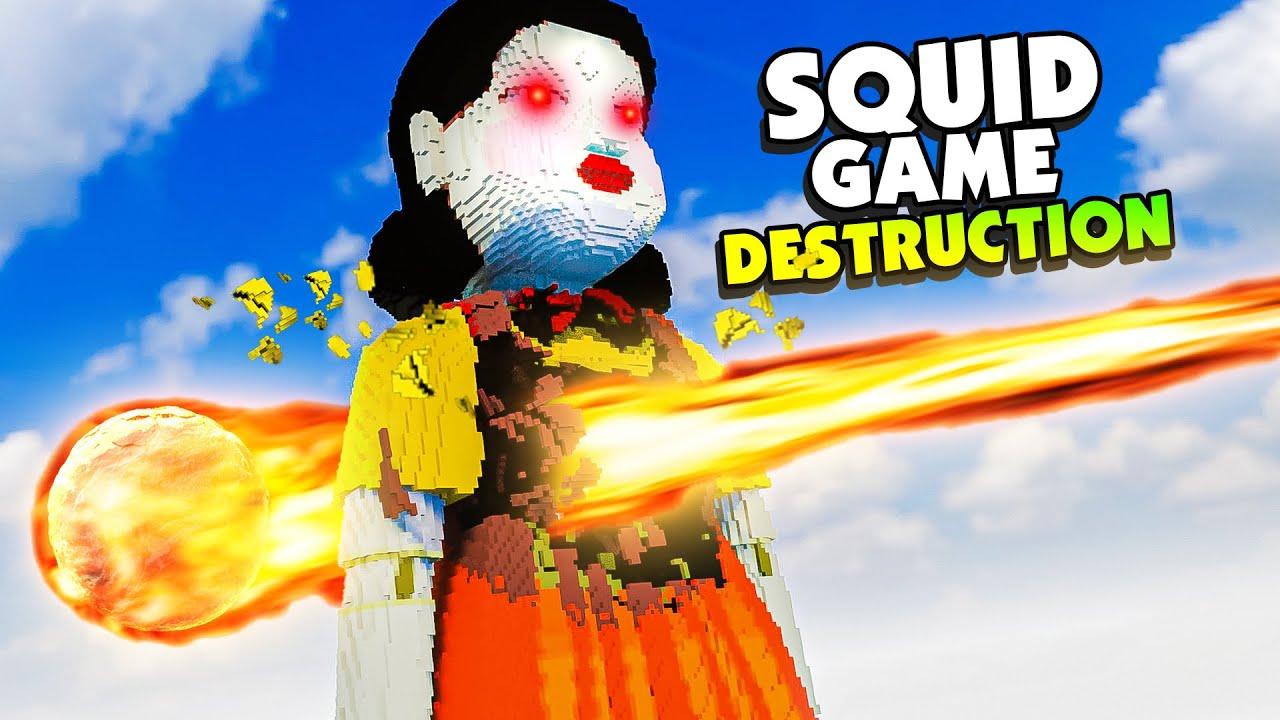 Download SQUID GAME DOLL Destruction in Teardown - Teardown Mods