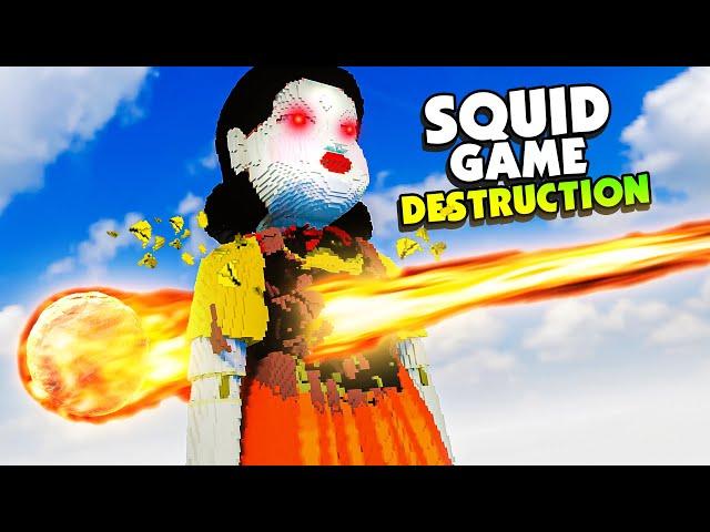 SQUID GAME DOLL Destruction in Teardown - Teardown Mods