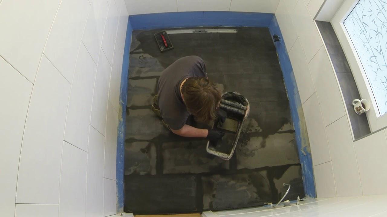 Fußboden Fliesen Neu Verfugen ~ Bodenfliesen verfugen youtube