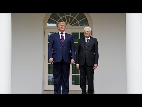 Watch live: President Trump holds news conference with the president of Italy
