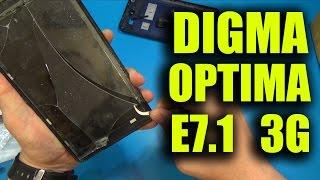 ЗАМЕНА СЕНСОРА НА DIGMA OPTIMA E7.1 3G!!! Aliexpress