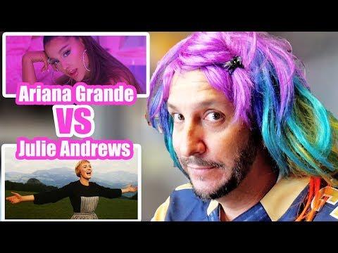 ODM (Voice Of Thee I.E.) - ODM aka Rainbow Bright aka Lady Glitter Sparkle REACTS to Ariana Grande