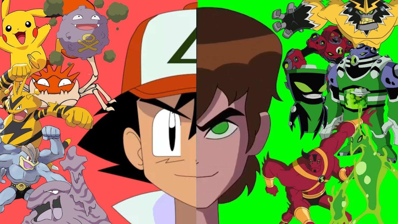 Ben 10 - Pokémon Equivalents | Read Description | Ben 10 | Alien Force | Omniverse | Pokémon