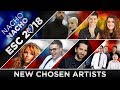 ESC 2018 - All Artists Chosen (New!) 🇦🇱🇬🇪🇫🇷🇨🇿🇷🇺🇪🇸