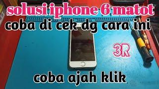 Cara mengatasi Iphone 7 blank hitam tanpa ngerestore atau ngebongkar handphone 😮😮😮.