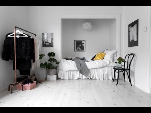 🍍 Interior Design | Minimalist Studio Apartment, Stockholm - YouTube