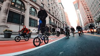 BMX Takeover in Midtown NYC (DailyCruise 39)