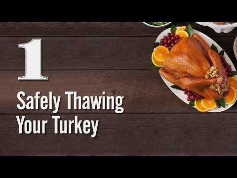 Steve Knoll - How to Properly and Safely Thaw Your Turkey