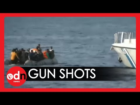 Terrifying Footage of Gun Shots Fired at Migrants on Turkey-Greece Border