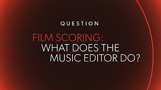 What Does A Music Editor Do? ... @ www.OfficialVideos.Net