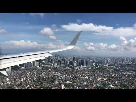 SPECTACULAR SKYLINE | Philippine Airlines 321 APPROACH & LANDING at Manila Airport