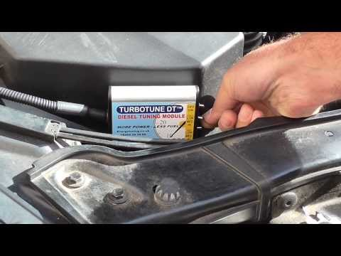 BMW 320D Turbotune Diesel Chip Tuning Box fitting guide - YouTube