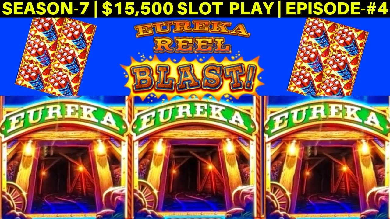 Download EUREKA Reel Blast Lock It Link Slot Machine Max Bet Bonuses   SEASON-7   EPISODE #4