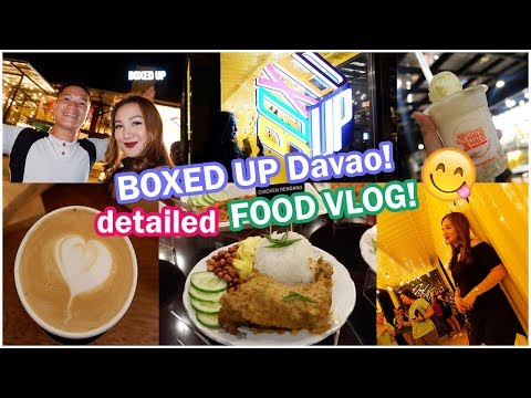 BOXED UP DAVAO (Media Night) | DAVAO's FIRST CONTAINER VAN FOOD PARK