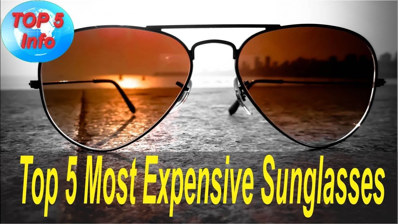c61d551a9dd Top 5 Most Expensive Sunglasses in the world 2017 - YouTube