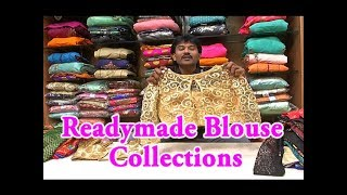 Readymade Blouse Collections / Designer Blouse / Embroidered Blouses