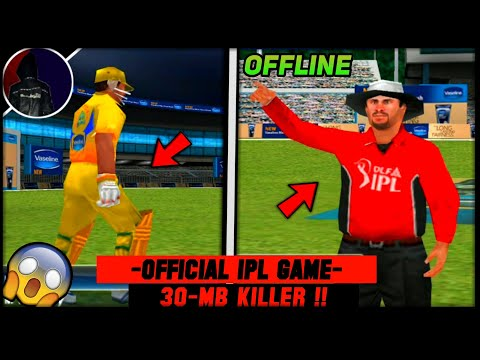 🔥30-Mb Killer! Download Official Pepsi Ipl & Dlf Ipl Cricket Game For Android | Best For 1Gb Ram