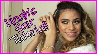 Fifth Harmony - Dinah's Hair Tutorial - Fifth Harmony Takeover