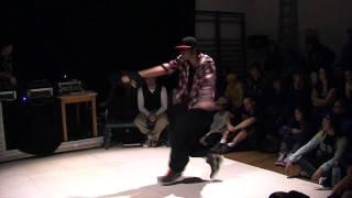 BATTLE JUST 4 DANCE - Demi finale TOP ROCK - Tonio VS Thomas