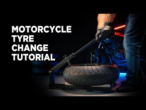 How To Change A Motorcycle Tyre? Proworks Tyre Machine