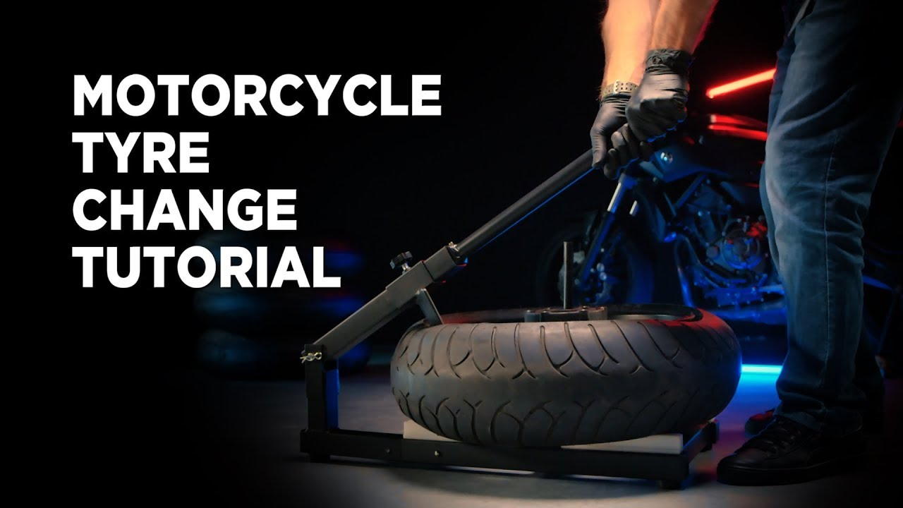 Motorcycle Tire Installation Near Me >> How To Change A Motorcycle Tyre Proworks Tyre Machine Youtube