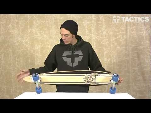 Landyachtz Pinner Bamboo 44 Inch Complete Longboard Review - Tactics.com