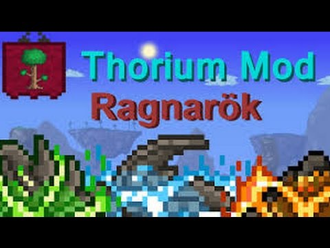 Terraria Thorium mod I Ragnarök ( Final boss )