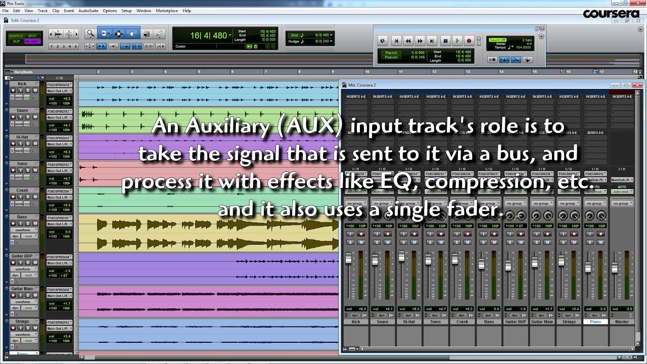 Coursera audio dsp