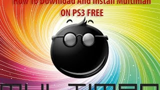 how to install multiman on ps3