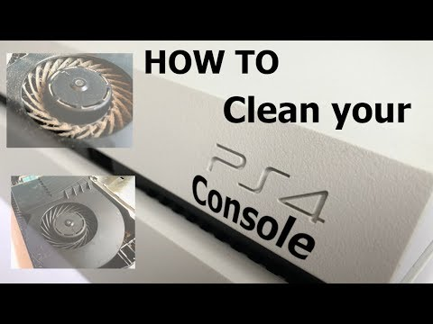Best Way To Clean a PS4 Console