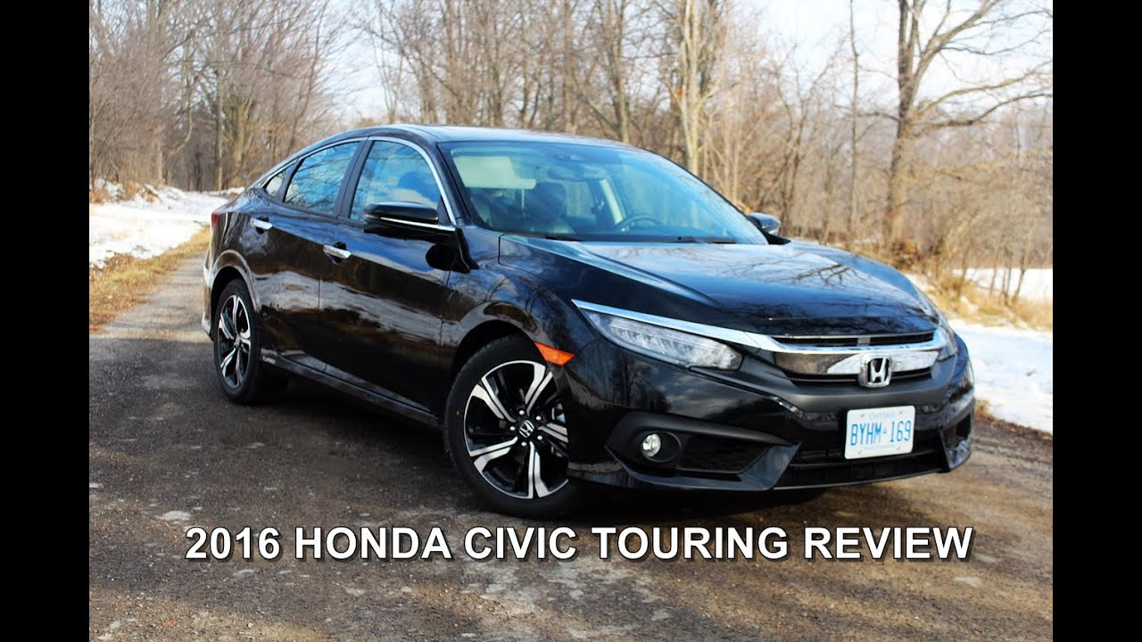 2016 honda civic touring review doovi. Black Bedroom Furniture Sets. Home Design Ideas