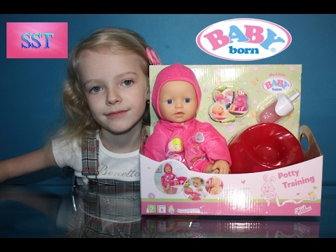 💕NEW MY LITTLE BABY BORN DOLL 2017 НОВАЯ КУКЛА БЕБИ БОН|МАМИНА ЗАБОТА РАСПАКОВКА|Unpacking-SST