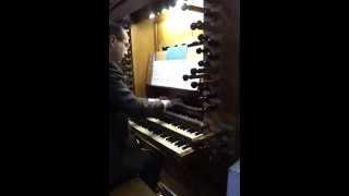 HAËNDEL, Concerto pour orgue op.4, n.1 Larghetto, Grandes Orgues, Cathédrale de Dax