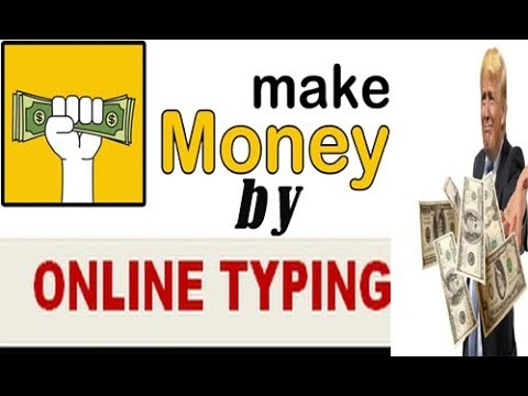How to earn through online typing work | contentmart