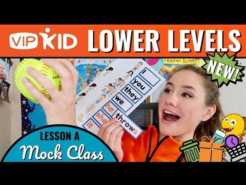 NEW! VIPKid Lower Levels Certification (A) Interactive Level 2 & 3 Mock Walkthrough (Lesson 7)