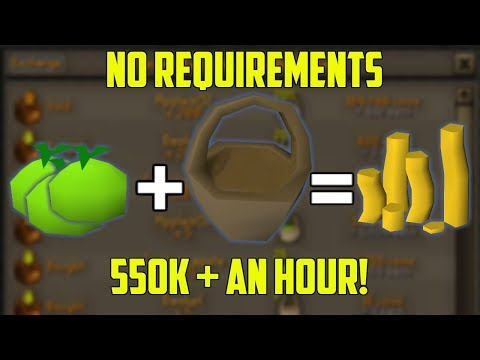 OSRS - 550K+ AN HOUR! NO REQUIRMENTS! Old School Runescape Money Making Guide