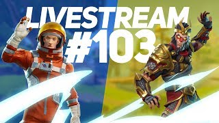LIVESTREAM #103-FORTNITE É VIDA! ROCKET LEAGUE FREESTYLE & RANKEDS!