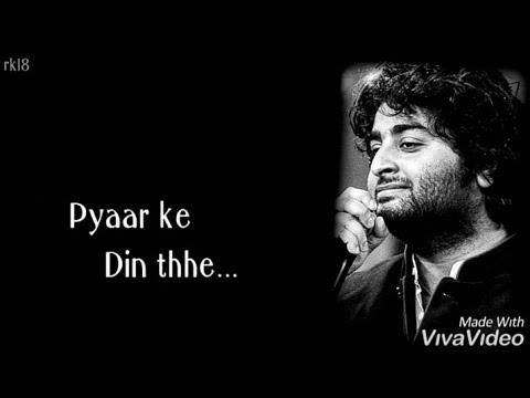 Download Lagu  Woh Din : Arijit Singh WhatsApp Status | New Status  | New song 2019 | #Newsong #status |rk18 Mp3 Free