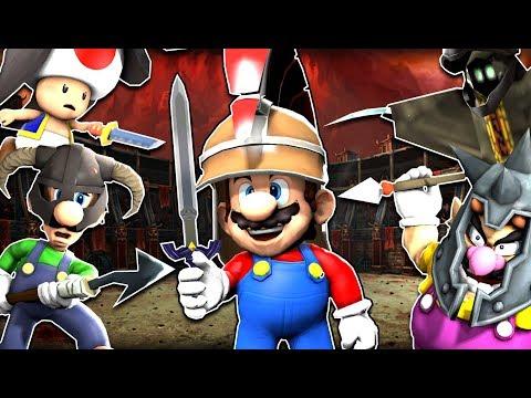 SMG4: Mario Gladiators