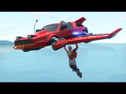 Fortnite New Glider Gameplay.HOT RIDE - PLAYS MUSIC