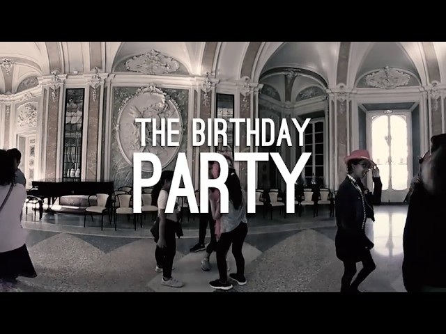 FIRST SCENE // The Birthday Party