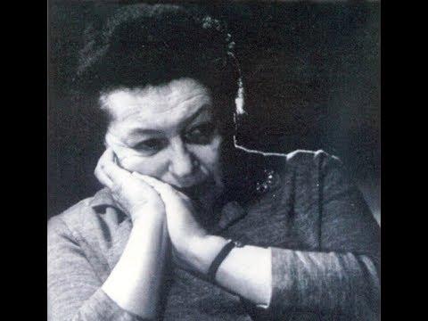 Maria Grinberg plays Medtner Forgotten Melodies, op. 38, 39, 40
