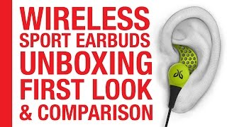 JayBird BlueBuds X2: Unboxing, First Look & Comparison [Bluetooth Sport Earbuds]
