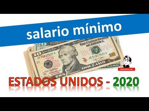 Este es el salario mínimo en los Estados Unidos 2020