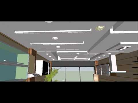Diseño arquitectonico y cielo raso para tienda de da vinci cucine ...