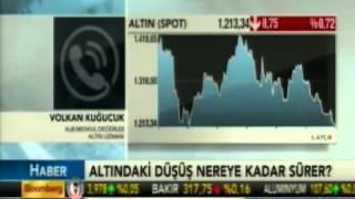 ALB Forex altın uzmanı Volkan Kuğucuk, altın piyasalarını yorumluyor. Bloomberg HT