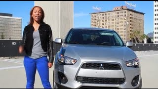Riding in the 2013 Mitsubishi Outlander Sport | Test Drive on BlackTree TV